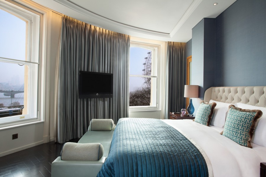 Suite at Corinthia Hotel London. Hotel photography by Peter Jackson Photographer.