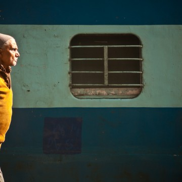 The Railway in New Delhi, India, travel photography by Peter Jackson Photographer
