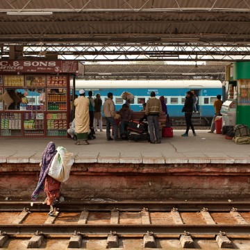 The Railway in Rajasthan, India, travel photography by Peter Jackson Photographer