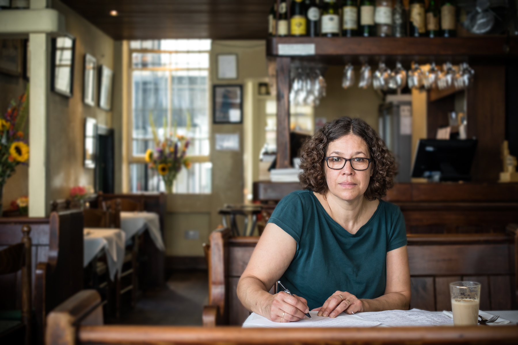 Melissa has been at the Soho institution, Andrew Edmunds, for 23 years.