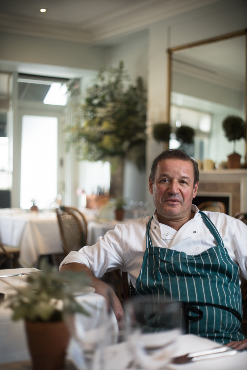 Manuel has been at Clarke's restaurant in Kensington for 21 years.