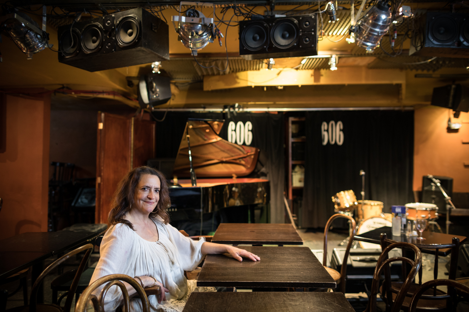 Esther has been at 606 Club in Chelsea Harbour for 30 years.