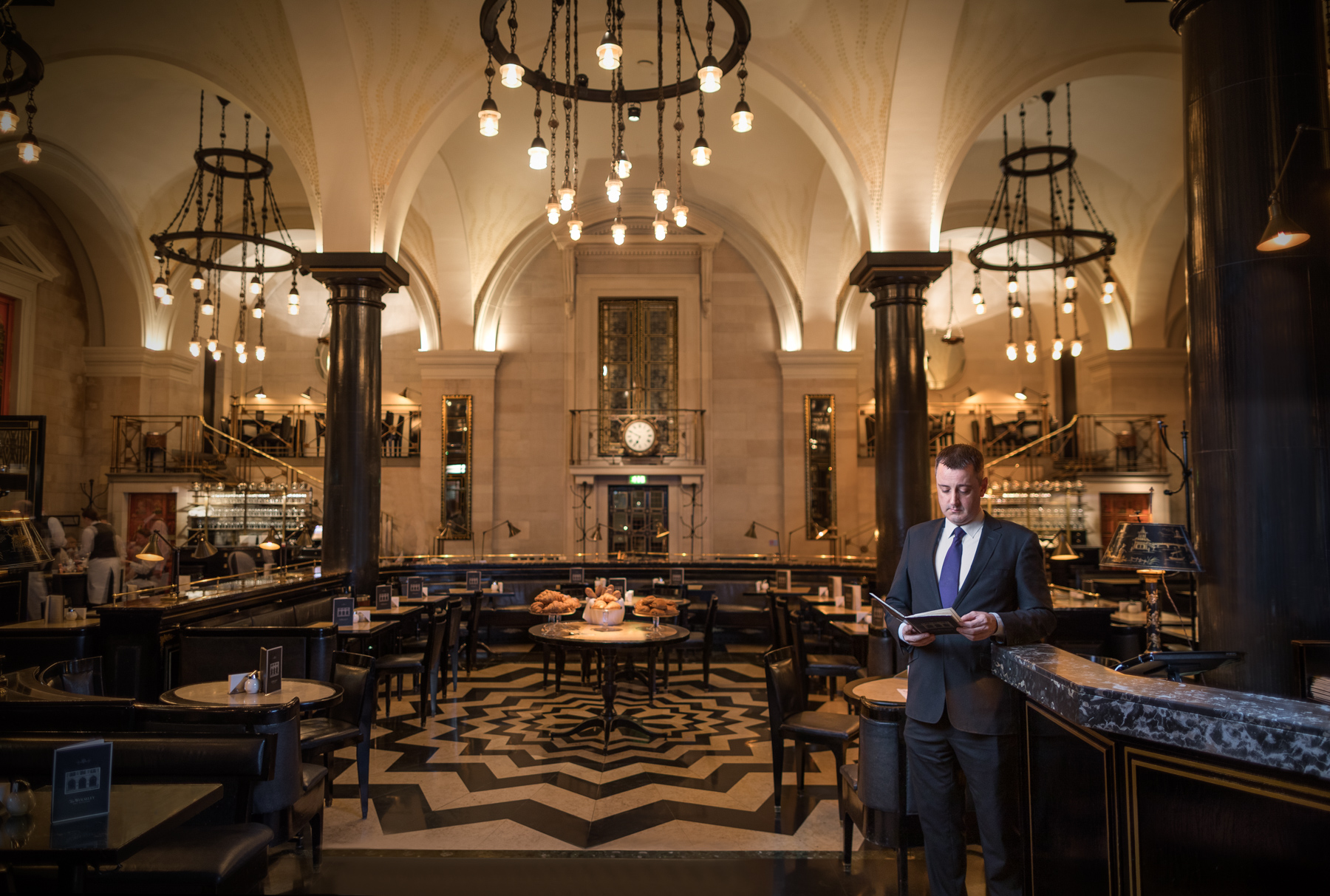 Matthew has been at The Wolseley on Piccadilly for 16 years now.