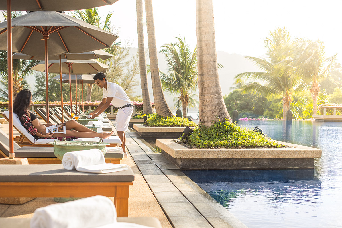 Lifestyle shoot at Andara Resort, Thailand, by Peter Jackson