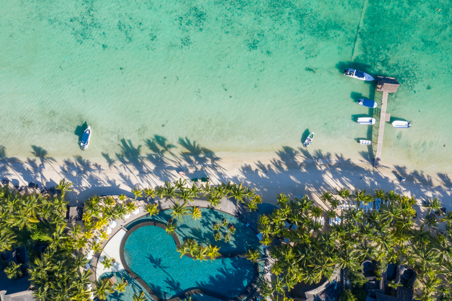 Hotel shoot for the Beachcomber group, Mauritius, by Peter Jackson