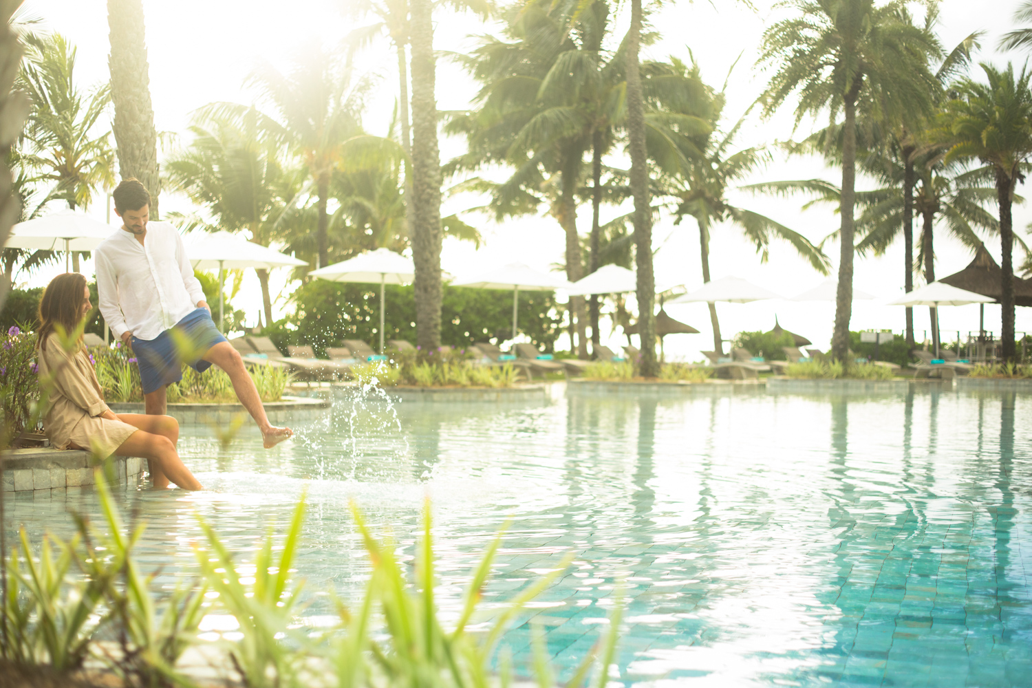Lifestyle shoot at LUX* Belle Mar, Mauritius, by Peter Jackson