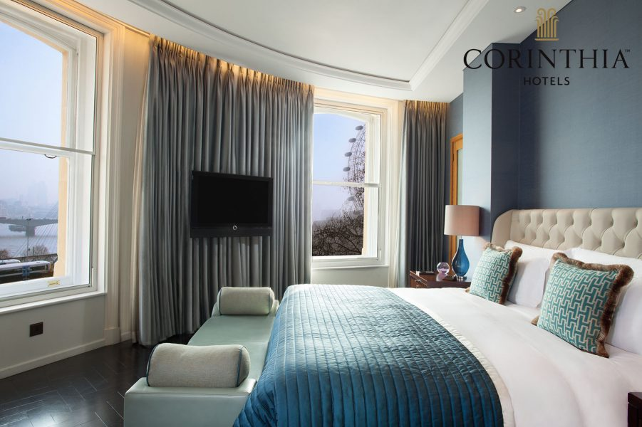 Interiors shoot for Corinthia London by Peter Jackson
